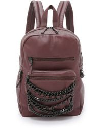 Ash - Domino Small Backpack - Dark Wine - Lyst