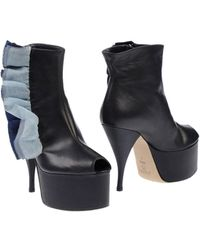 Acne Studios Ankle Boots - Lyst