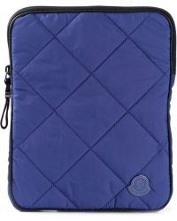 Moncler Quilted Ipad Case - Lyst