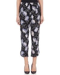Thakoon Addition - Vintage Floral Crop Trousers - Lyst