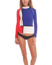 Pret-a-surf - Long Sleeve Rashguard - Lyst