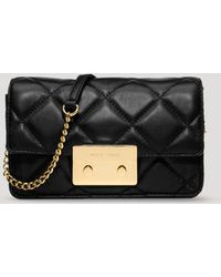 MICHAEL Michael Kors Crossbody - Sloan Chain Quilted - Lyst