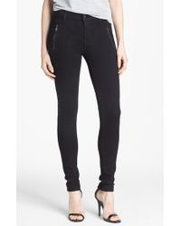 Hudson 'Biker' Skinny Jeans - Lyst