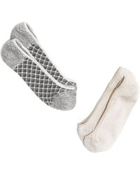 Madewell Twopack Low Profile Socks - Lyst