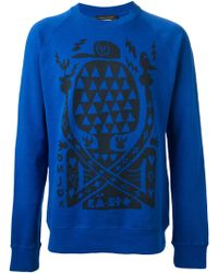 Marc Jacobs Graphic Print Sweatshirt - Lyst