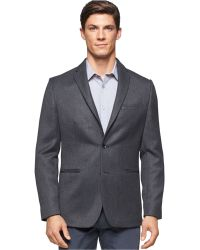 Calvin Klein | Classic-fit Dobby Jacket | Lyst