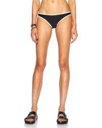 Solid & Striped The Miranda Bikini Polyamide-blend Bottom - Lyst