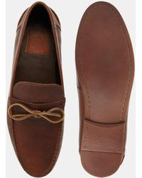 ASOS - Loafers With Tie Front - Lyst