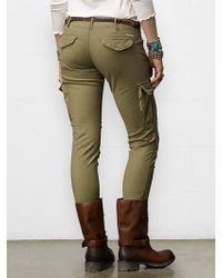 Denim & Supply Ralph Lauren Skinny Freedom Cargo Pant - Lyst