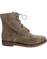 Rag & Bone Mallory Boot In Taupe gray - Lyst