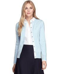 Brooks Brothers Cashmere Cardigan - Lyst