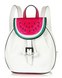 Sophia Webster - Ziggy Watermelon Leather Backpack - Lyst