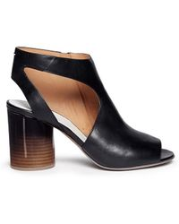 Maison Martin Margiela Ombré Round Heel Leather Sandals - Lyst