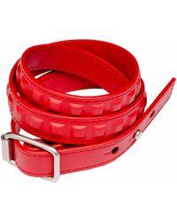 Balenciaga Grid Bracelet Triple Tour - Lyst
