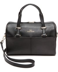 Karen Walker Andie Mini Duffle Bag  Black - Lyst