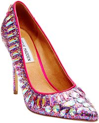 Steve Madden Galaxxie Sparkle Pumps - Lyst
