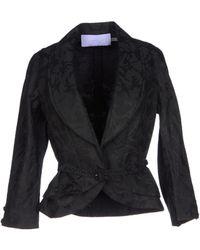 Vera Wang Lavender Blazer black - Lyst
