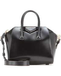 Givenchy Antigona Mini Leather Shoulder Bag - Lyst