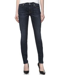7 For All Mankind Gwenevere Skinny Stretch Jeans - Lyst