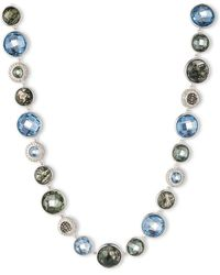 Judith Jack - Sterling Silver And Mixed Stone Necklace - Lyst