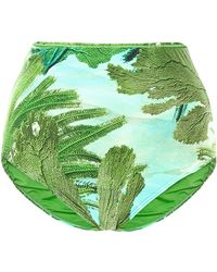 Agua De Coco Algae High Waisted Bottom - Lyst