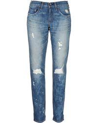 Rag & Bone Boyfriend Jeans - Lyst