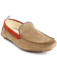 Paul Smith Rico Beige Suede Moccasin - Lyst