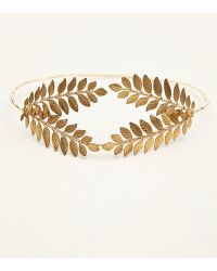Free People Queen Of The Forest Fern Leaf Crown - Lyst