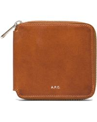 A.P.C. Compact Wallet - Lyst