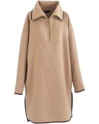 J.Crew Collection Cashmere Poncho - Lyst