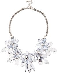 Coast Floral Necklace - Lyst