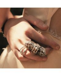 Pamela Love Serpent Ring In Sterling Silver - Lyst