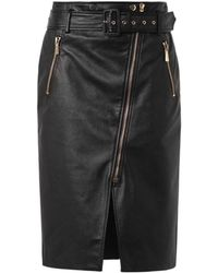 Jason Wu - Zip-Front Leather Pencil Skirt - Lyst