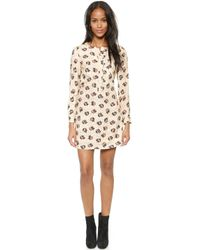 Paul & Joe Sister Long Sleeve Chihuaua Dress  Ecru 12 - Lyst