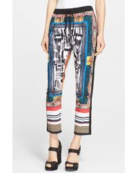 Clover Canyon 'Imperial Markings' Woven Pants - Lyst