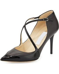 Jimmy Choo Madera Crisscross Point-toe Pump - Lyst
