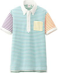 Uniqlo Men Washed Short Sleeve Polo Shirt By Mb - Lyst