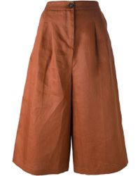 Societe Anonyme Wide Cropped Trousers - Lyst