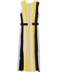 Roksanda Ilincic 13 Yellow Wyatt Strips Dress - Lyst