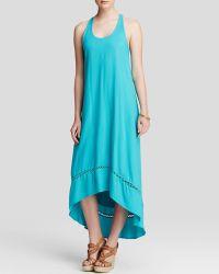 Ella Moss Dress - Stella Maxi blue - Lyst