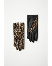 Rag & Bone Zip Glove animal - Lyst