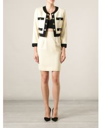 Moschino Vintage Golden Coins Skirt Suit - Lyst