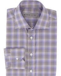 Etro Plaid-Pattern Dress Shirt - Lyst
