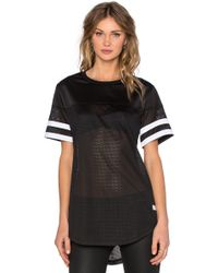 Stampd - Mesh Scallop Jersey - Lyst