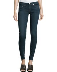 Rag & Bone/JEAN Low-rise Skinny-leg Jeans - Lyst