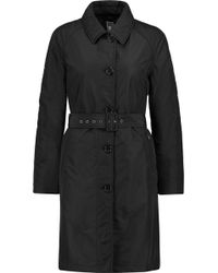 Add - Belted Ped Shell Coat - Lyst