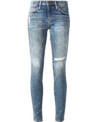 Current/Elliott 'Cheville' Skinny Jeans - Lyst