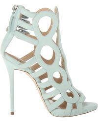 Giuseppe Zanotti boots sandal boots heel boots ankle boots - Lyst
