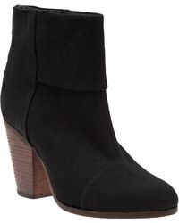 Rag & Bone Classic Newbury Black Canvas - Lyst
