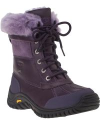 Ugg | Adirondack Ii Snow Boot Blackberry Wine Leather | Lyst
